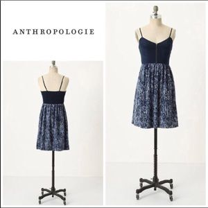 "Anthro Moulinette Soeurs ""In The City"" Silk Dress"